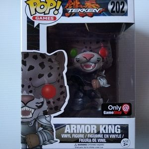 Funko Pop Tekken armor king exclusive